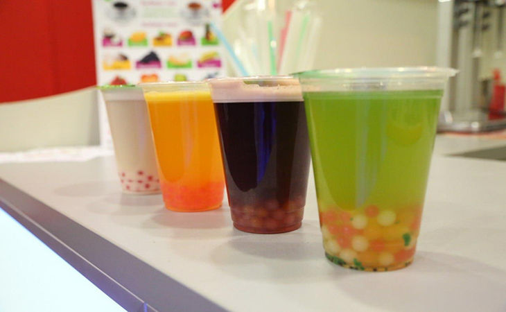 popping boba drinks