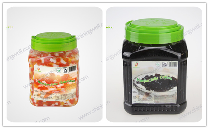 konjac jelly bottle package