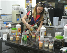 Free bubble tea training for new customer from Chile
