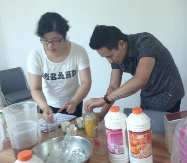 Free bubble tea training for Nepal customer