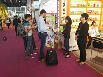 New products presentation in the 121th Canton Fair